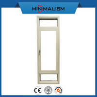 Construction Material Casement Window with 304# Stainless Hardware