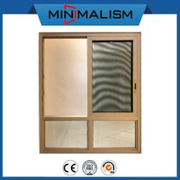 Building Material Aluminum Sliding Window
